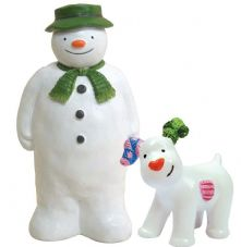 The Snowman and The Snowdog Cake Topper